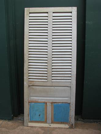 Antique French Shutter Single Door $650.00