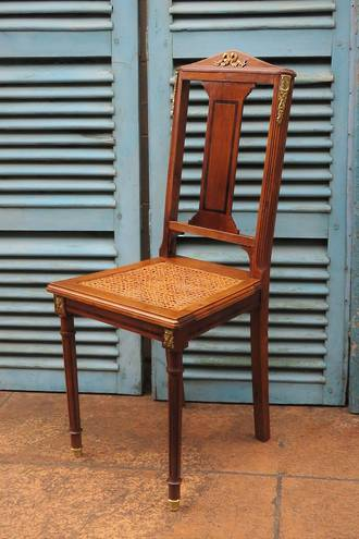 Empire Style Finely Crafted French Antique Chair $395