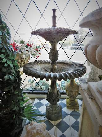 Antique French Fountain - Zinc $2500 SOLD