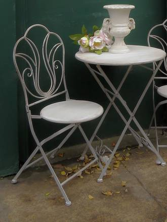 Concrete French Industrial Chic Style Cafe Set 3 piece  $399.00