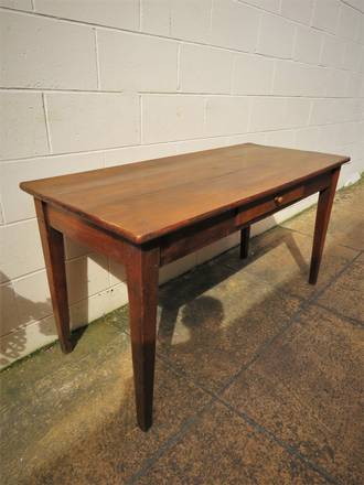 18th Century Fruit Wood Dining Table - Hall  Table $1695.00
