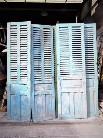 Antique French Shutters - Door Panels  $950 pair