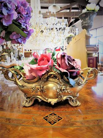 Antique French Gilt  Ornate Rococo Centerpiece SOLD