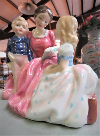 Royal Doulton Figurine 'The Bedtime Story'