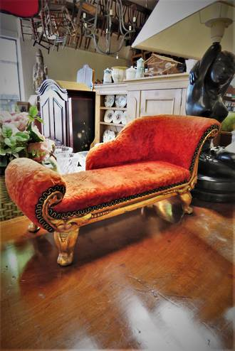 Miniature Chaise Longue Sofa $275