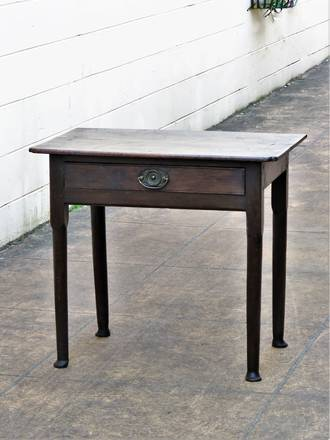 17th Century Oak Desk or Side Table, Extraordinarily Rare! SOLD