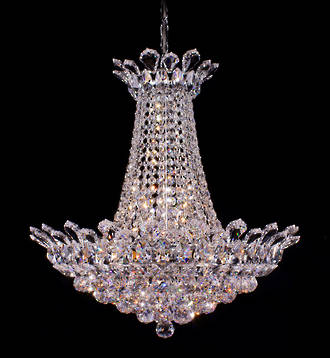 Crystalized Chandelier Tear Drop shape  $5950 By special order