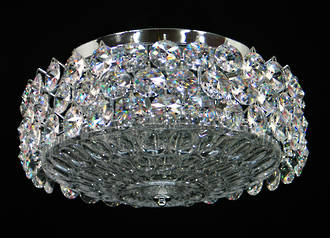 Crystal Ceiling Light $1950 By special order