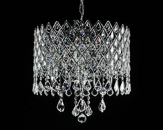 Diamond Detail Crystal Chandelier SOLD Special Order