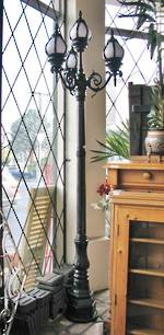 Cast Iron English Style Garden Lamp Post or Street Lamp $2500 each