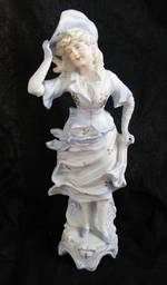Antique Bisque Figure