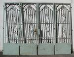 Iron Gates Bi folding $3950 set of 4