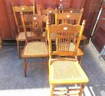 Antique Spindle Back Chairs