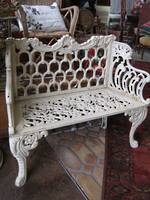 Reproduction Garden Bench Seat SOLD