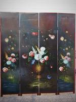 Vintage Hand Painted Screen $1695