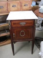 French Bedside with Marble Top SOLD