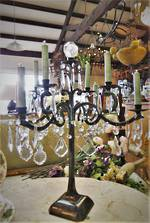 Cast Iron Table Chandelier $750