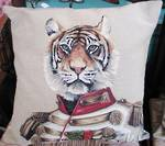Tiger Tapestry Cushion