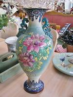 Huge Satsuma Vase Sold