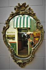 Genuine French Antique Mirror $495