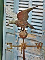Hand Wrought copper & Zinc Weather Vane $950