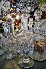 Antique Crystal Decanters  $55 - $225 NEW SELECTION IN STOCK