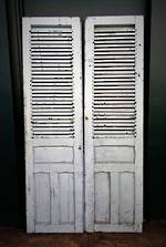Antique French Shutter Doors $1350.00 pr