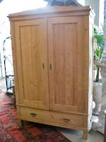 English Baltic Pine Wardrobe