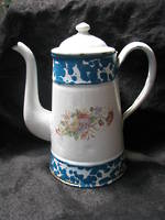 Marbled Enamel Coffee Pot