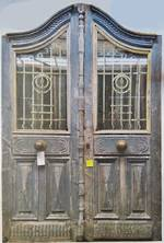 Antique French Blue Doors $5000.00 pair