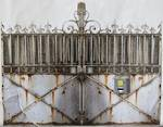 Industrial Chic Vintage Metal Gates