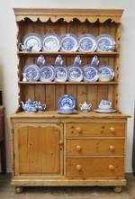 Antique Baltic Pine Hutch Dresser $2250