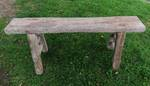 Rustic Baltic Pine Bench Seat