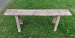 Rustic Antique Baltic Pine Bench Seat