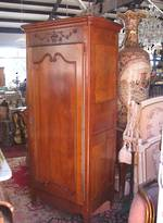 Cherrywood Armoire Wardrobe with Adjustable Shelving
