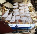 Hand Built Tall Ship