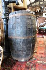 French Antique Wine Barrel
