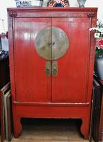 Huge Antique Chinese Cabinet