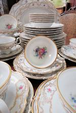 Hutschenreuther Porcelain German Dinner Set 50 Pc
