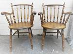 Pair of Antique Carver Chairs