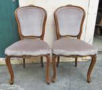 French Carved Chairs $700.00 pair