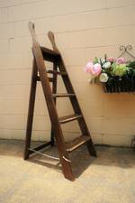 Antique Kitchen Ladder with Handles - RARE $395