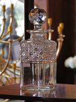 Vintage Cut Crystal Whiskey Decanter