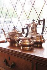 EPNS Coffee & Teapot Set $225
