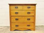Art's & Crafts or Art Nouveau Oak Chest of Drawers $1650