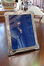 Large Sterling Silver Photo Frame