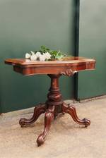 Antique English Card table $3250