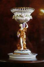 Antique Limoges Porcelain Figural  Centre Piece SOLD