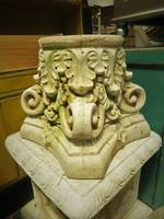 Fancy Concrete Plinth or Plant Stand or part of column $350.00 each