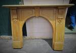 Antique Kauri Mantel and Fireplace surround $995